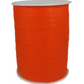 Orange Matte Ribbon 10mm