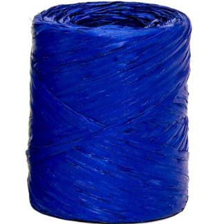 Royal Blue Raffia