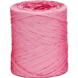 Pale Pink Raffia