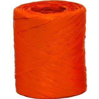 Orange Raffia