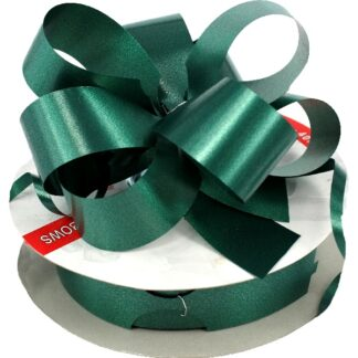 Hunter Green Satin Pull Bow 31mm