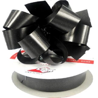Black Satin Pull Bow 31mm