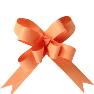 Peach Matte Pull Bow 19mm