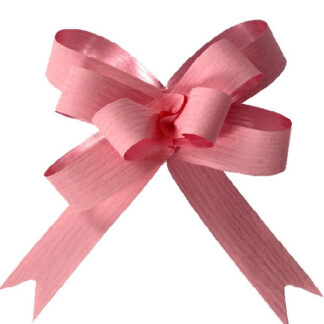 Pale Pink Matte Pull Bow 19mm