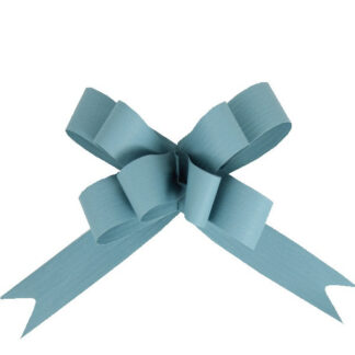 Steely Blue Matte Pull Bow 19mm