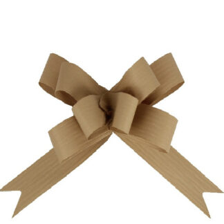 Natural Matte Pull Bow 19mm