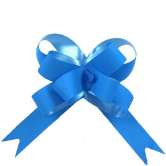 Mid Blue Matte Pull Bow 19mm