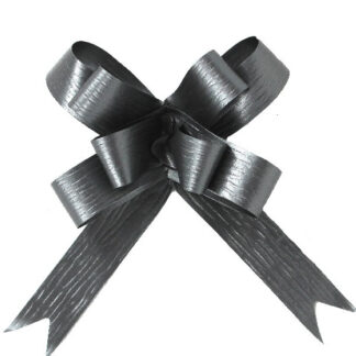 Pewter Matte Pull Bow 19mm