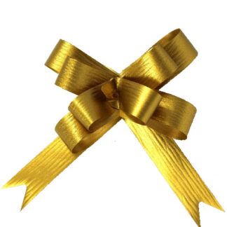 Gold Matte Pull Bow 19mm