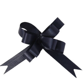 Navy Matte Pull Bow 19mm