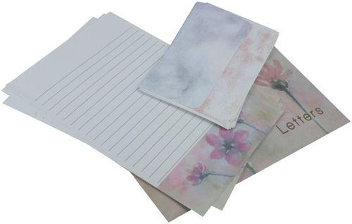 Letter Set Pink Flora