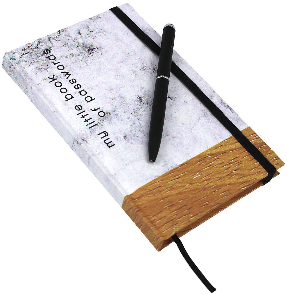 Password Book Marble