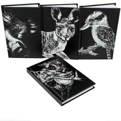 B+W Note Books Australiana Assorted