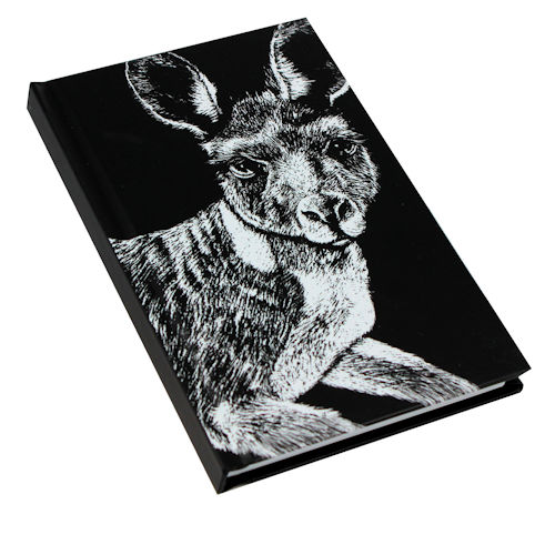 B+W Note Book Kangaroo