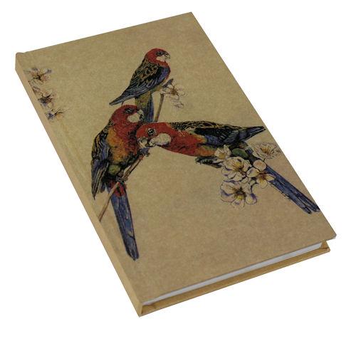 Kraft Note Book Rosellas