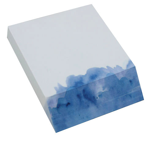 Memo Block Blue Wash