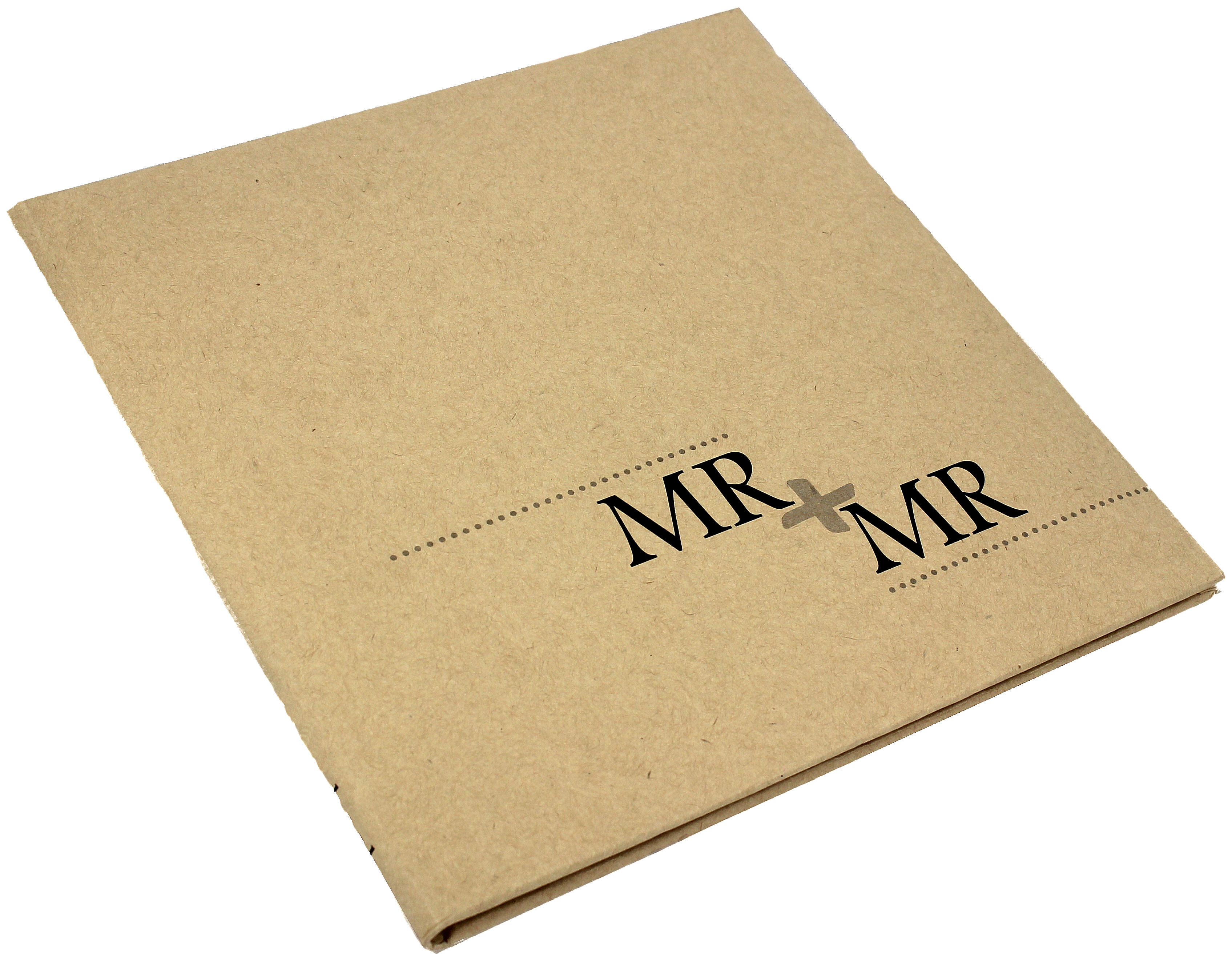 Kraft Guest Book Mr + Mr