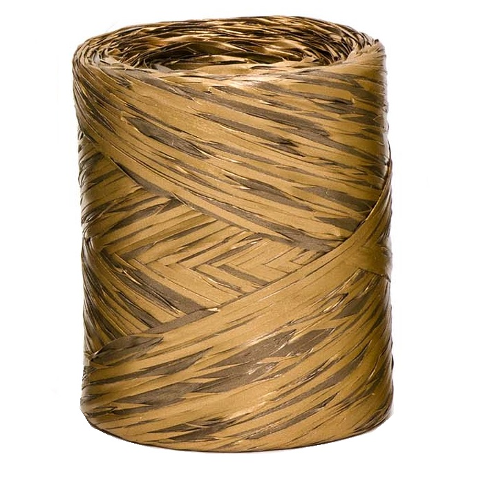 Copper + Brown Bicolour Raffia