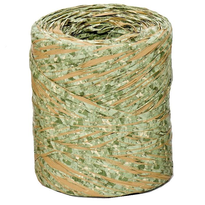 Green Cork Raffia