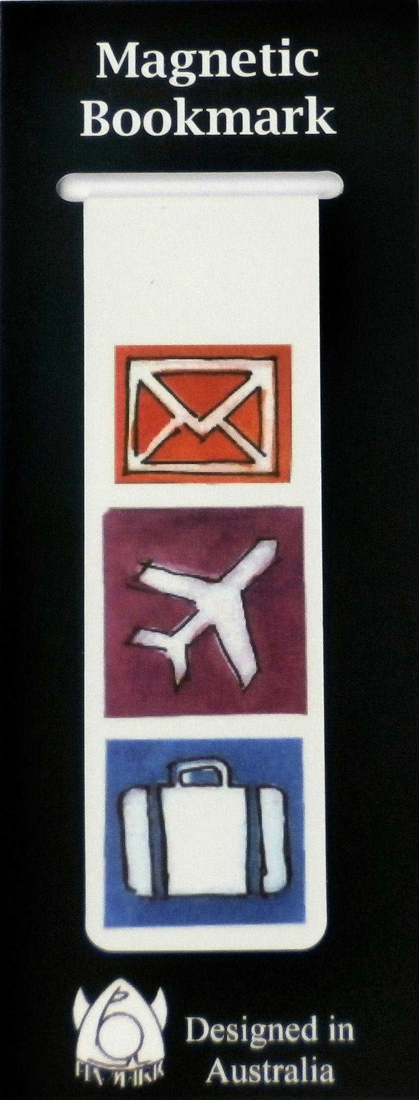 Magnetic Bookmark Travel