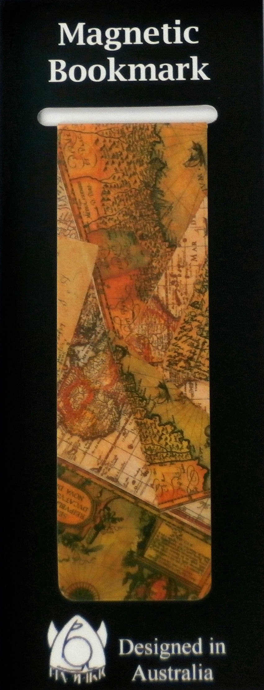 Magnetic Bookmark Maps