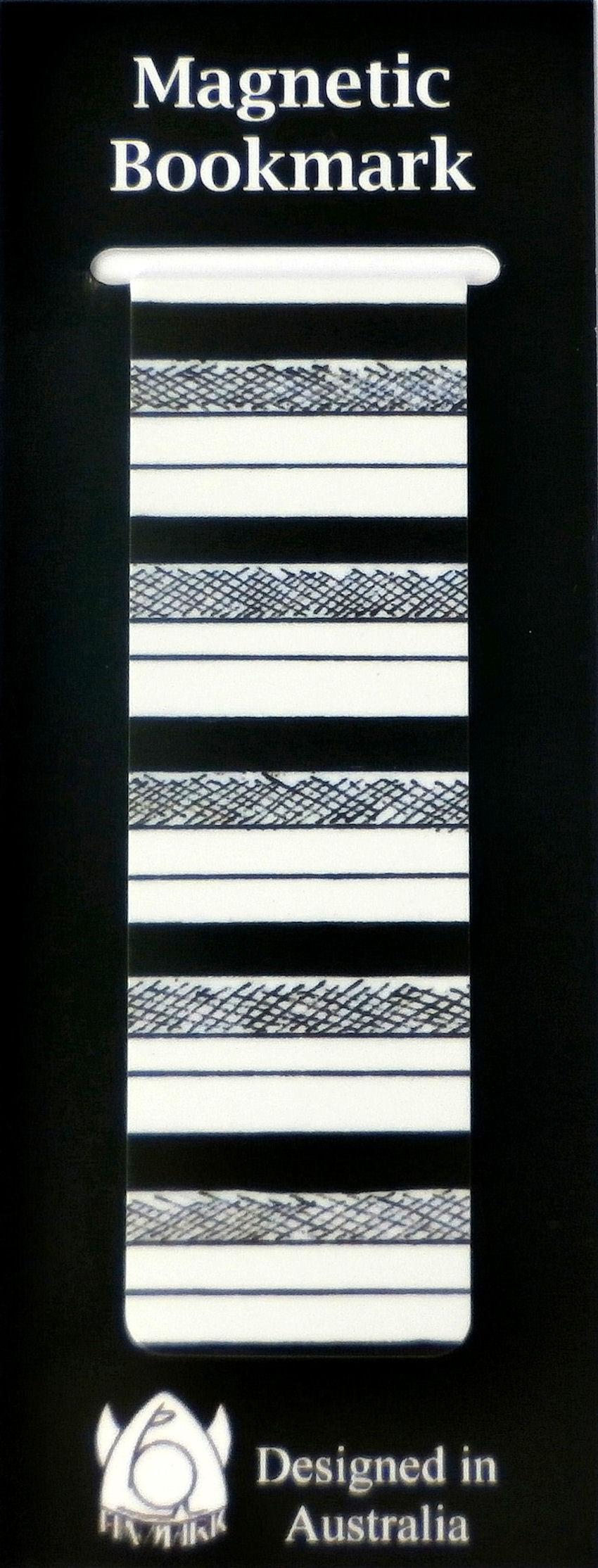 Magnetic Bookmark Stripes