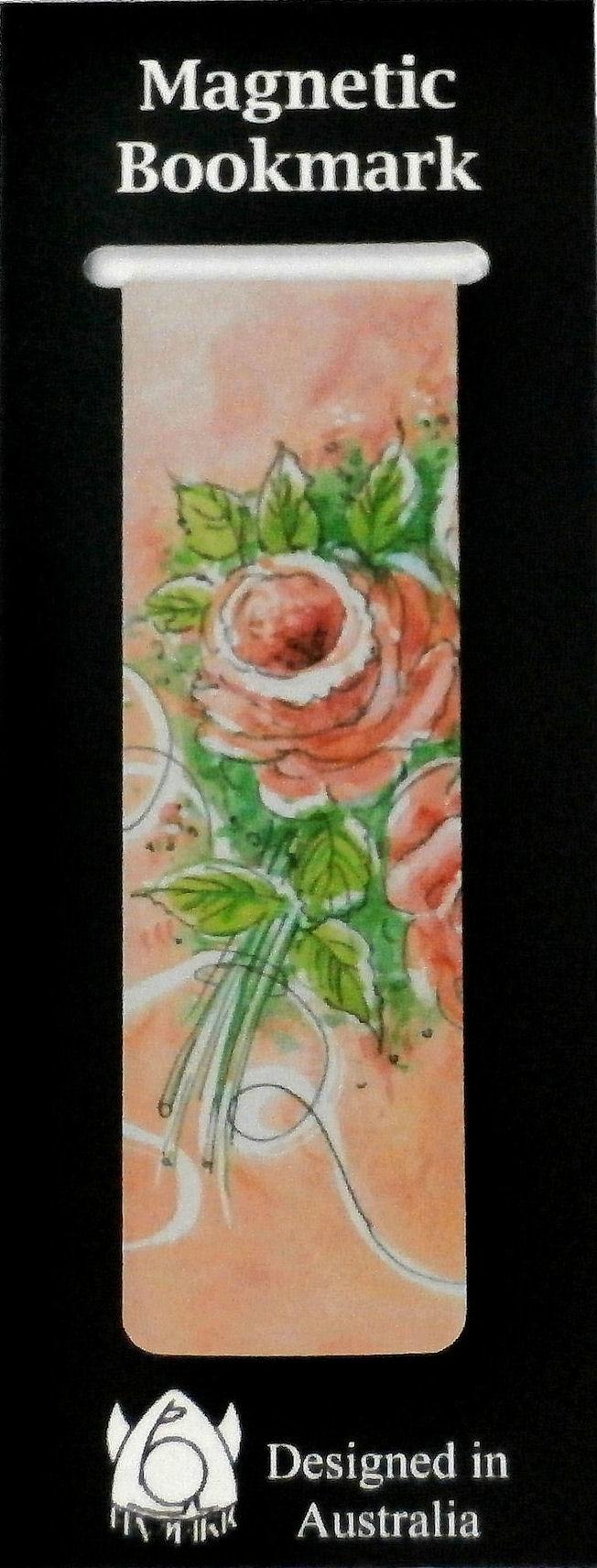 Magnetic Bookmark Roses