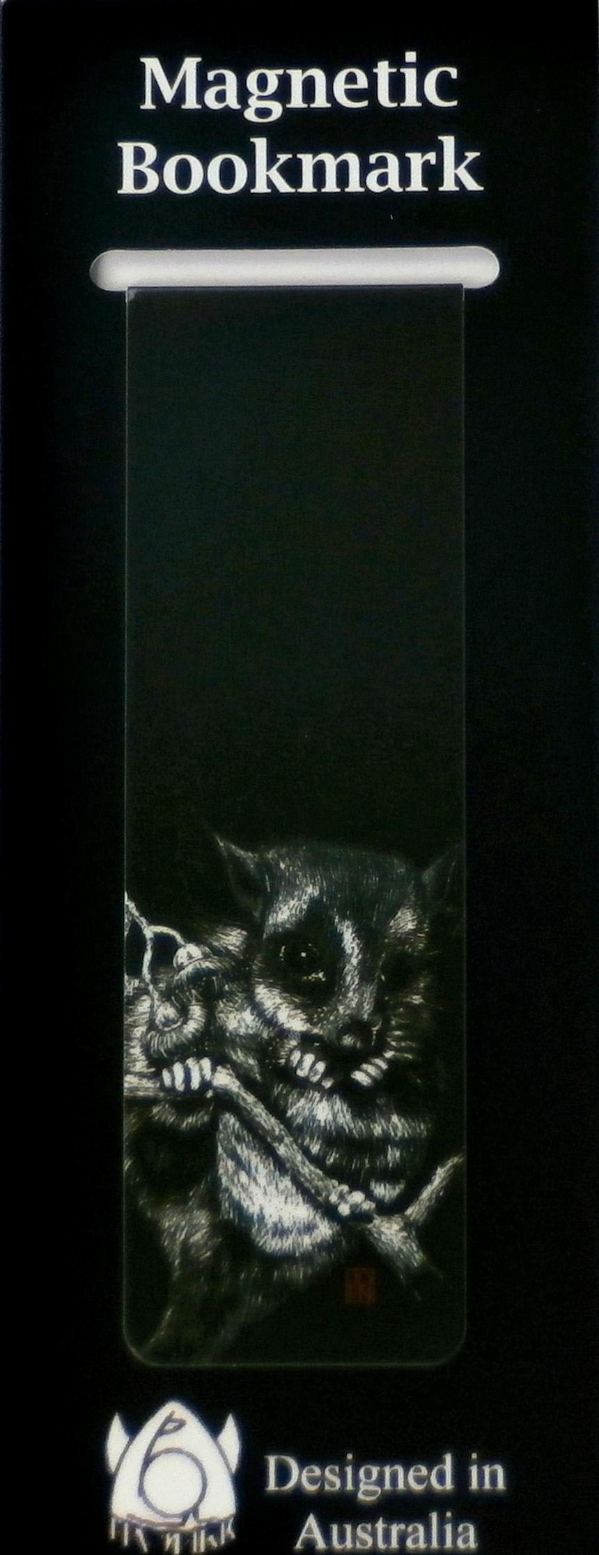 Magnetic Bookmark Possum