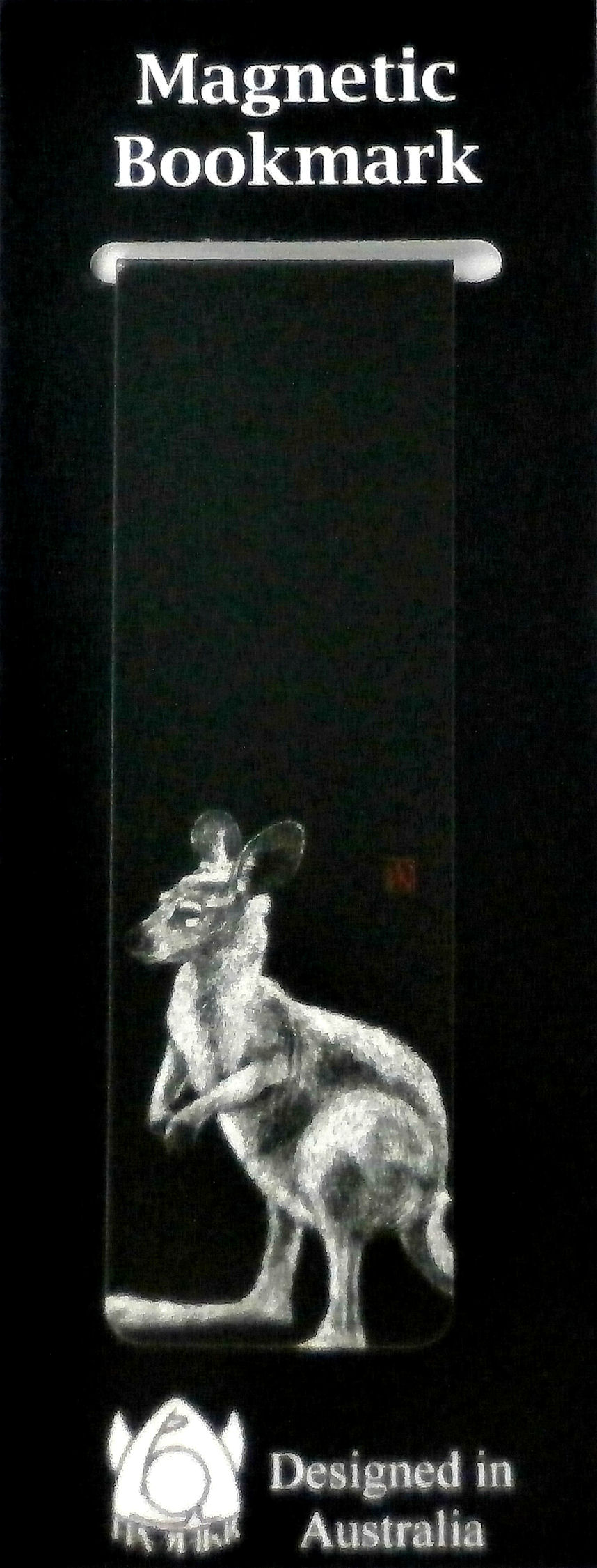Magnetic Bookmark Kangaroo