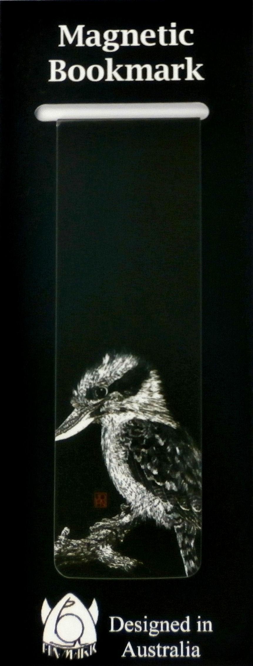 Magnetic Bookmark Kookaburra