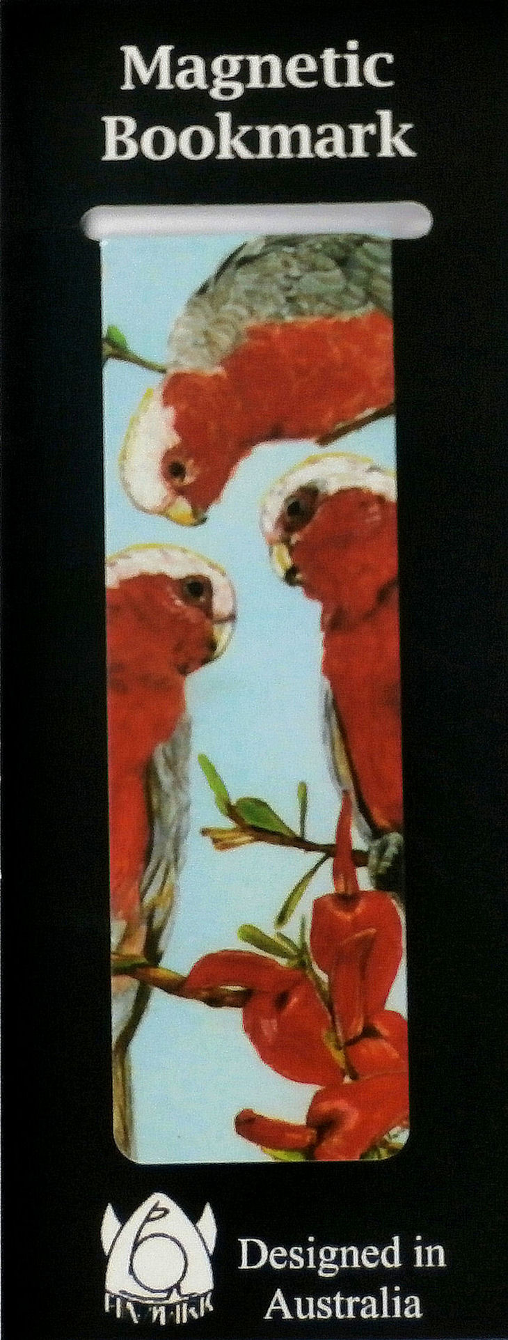 Magnetic Bookmark Galahs