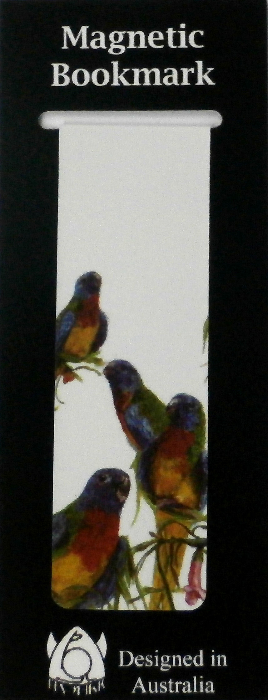 Magnetic Bookmark Parakeets