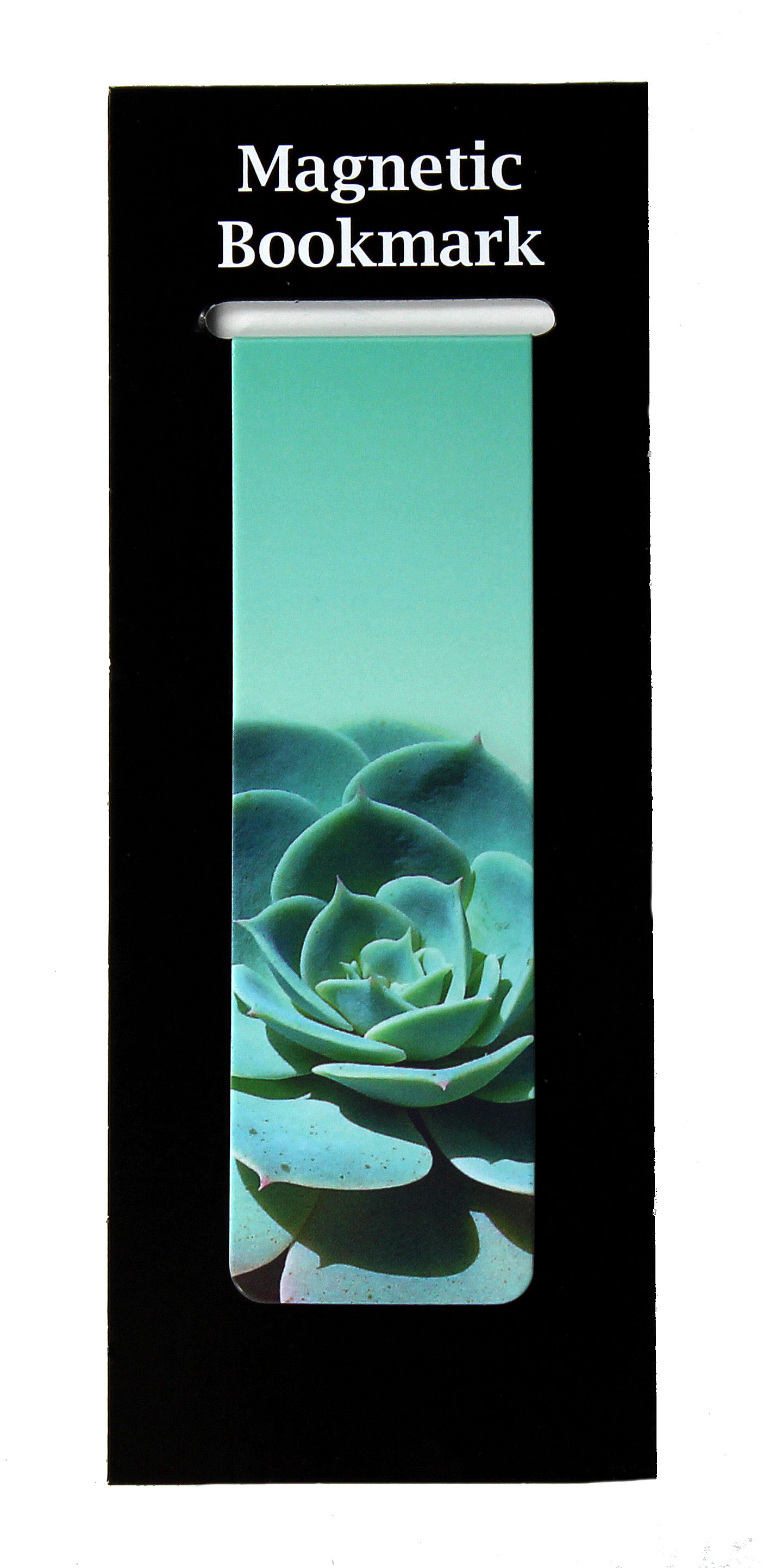 Magnetic Bookmark Succulents