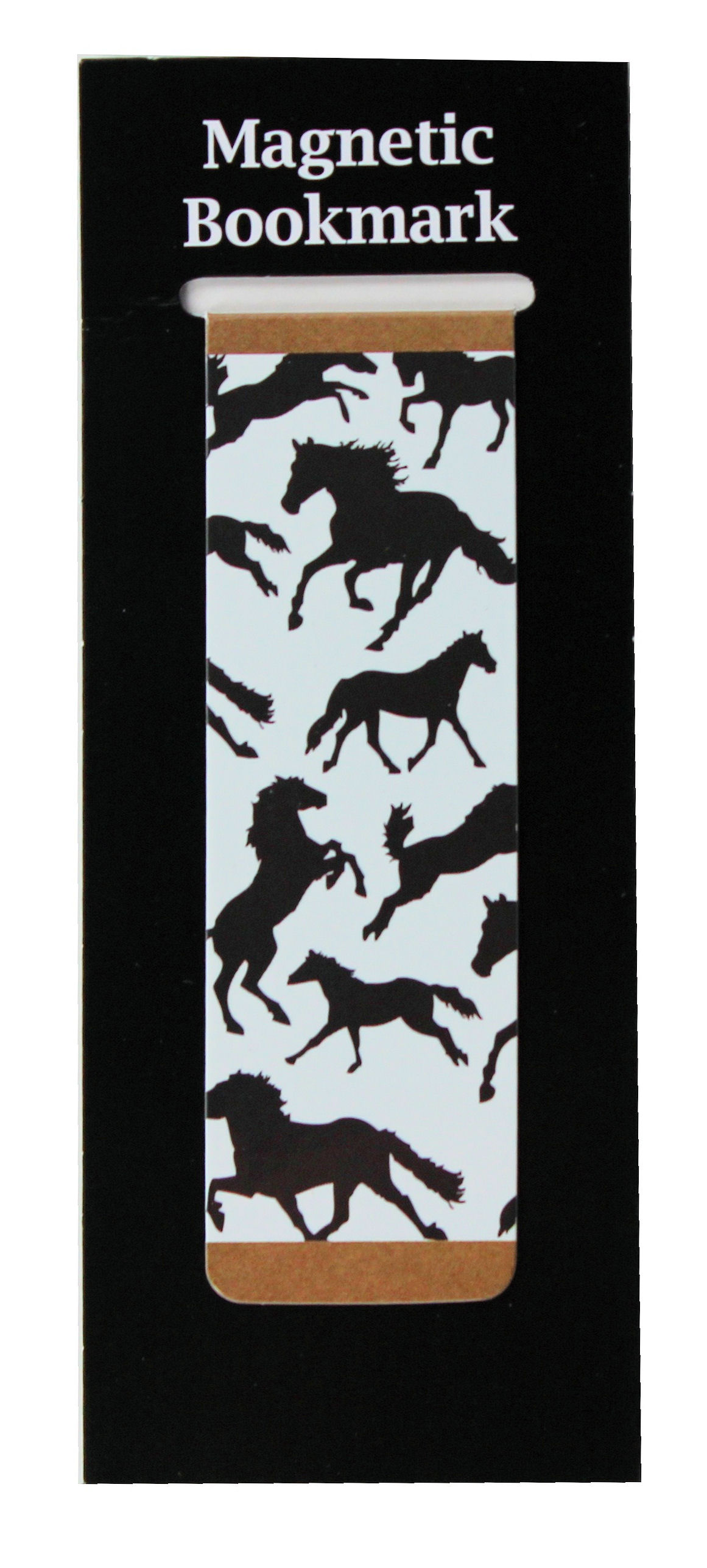 Magnetic Bookmark Horses