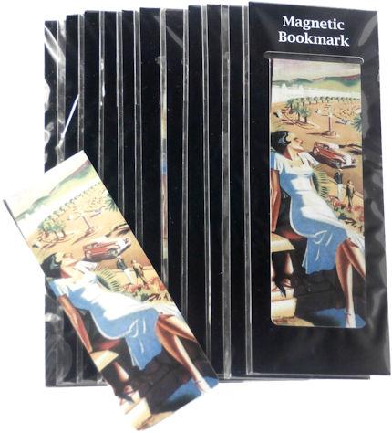 Magnetic Bookmark Nice Beauty