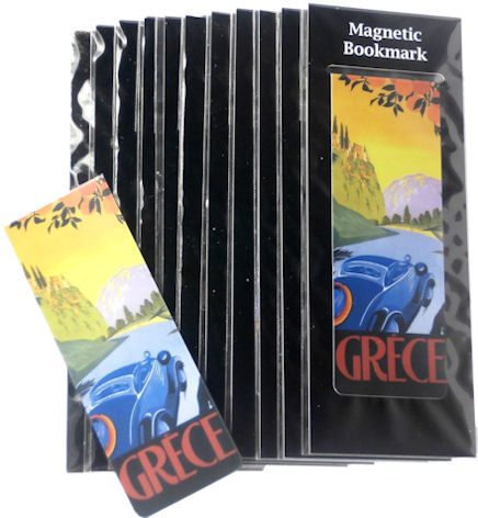 Magnetic Bookmark Grece