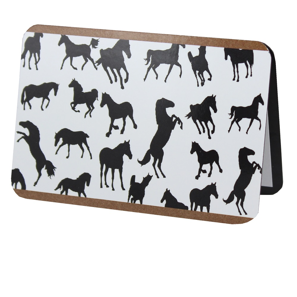 Magnetic Address Book Horses