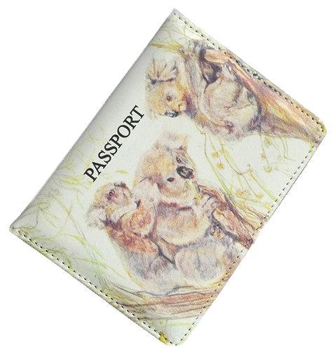 Passport Holder Koalas