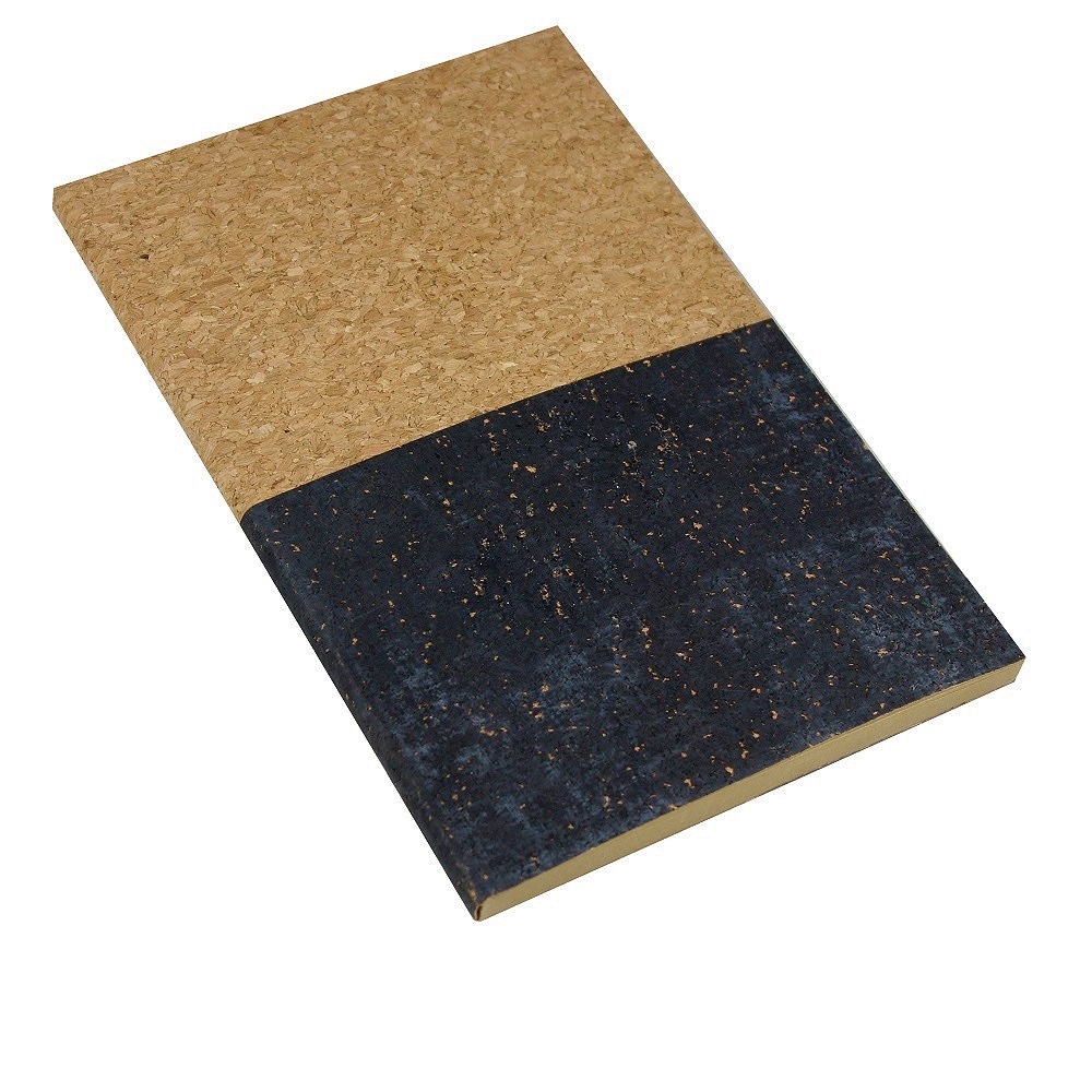A5 Cork Notebook - Black Dipped