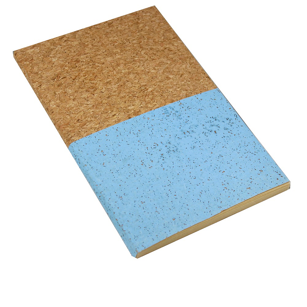 A5 Cork Notebook Blue Dipped
