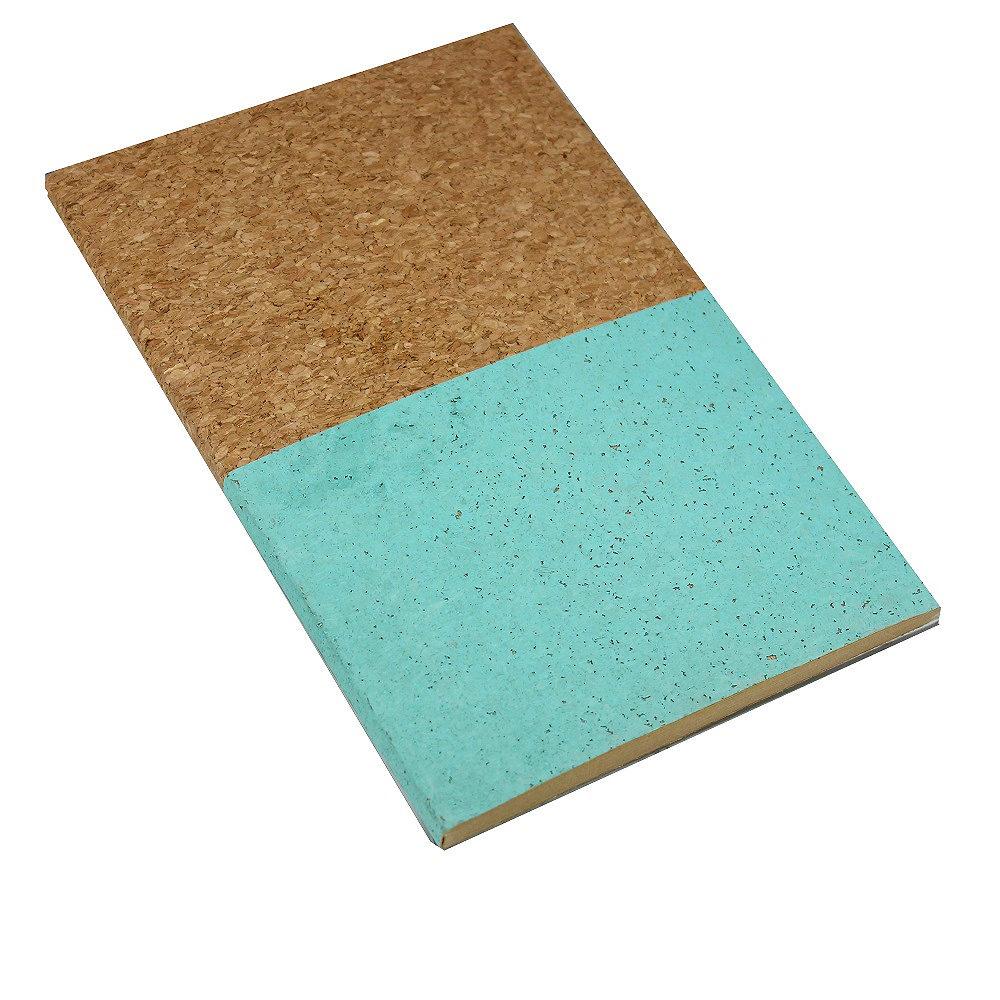 A5 Cork NoteBook Mint Dipped