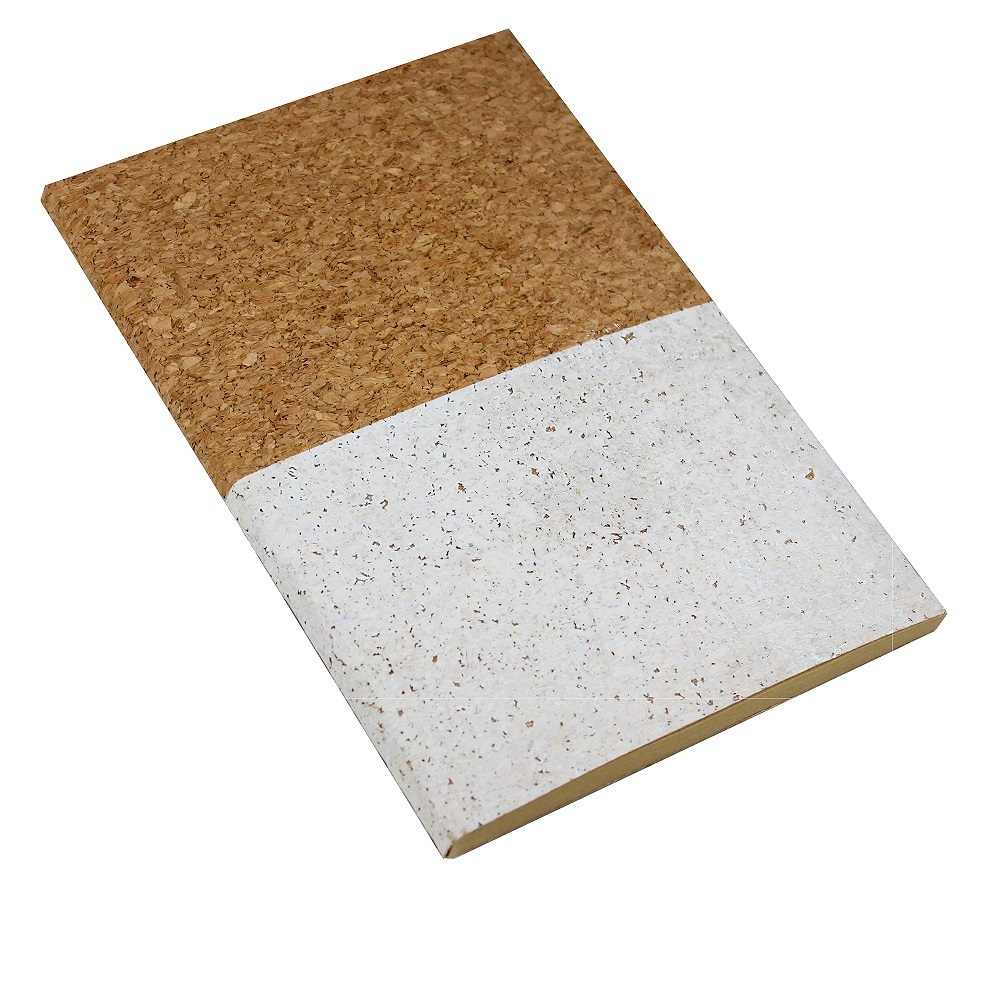 A5 Cork Notebook - White Dipped