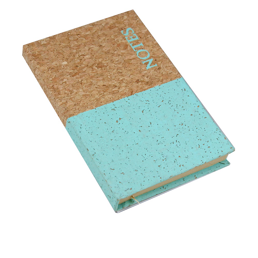A6 Cork Notebook Mint Dipped