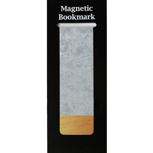 Magnetic Bookmark Concrete