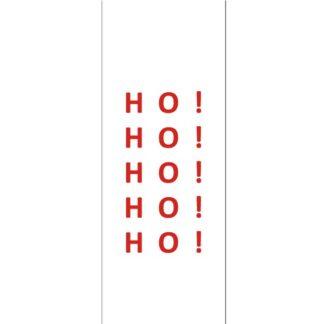 Ho! Ho! Ho! White Gift Tag
