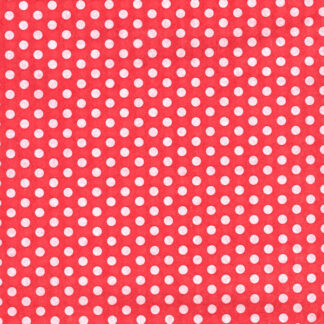 Spots On Red Tissue Paper