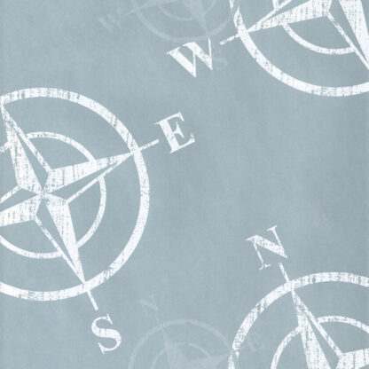 Matte Compass Wrapping Paper