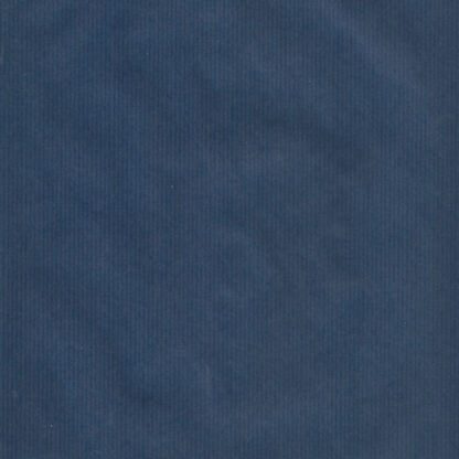 Ribbed Navy Wrapping Paper