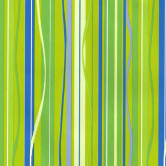 Lime Ribbons Wrapping Paper