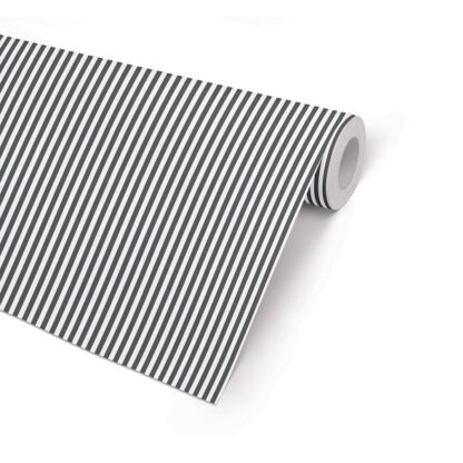 Matte Black Stripe Counter Roll
